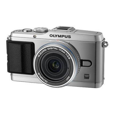 Olympus E-P3 17 mm Pancake-Kit silver