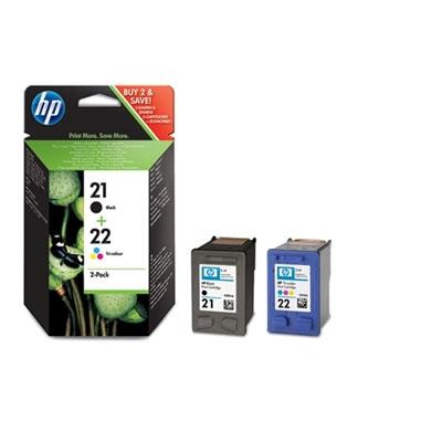 HP SD367AE cartridge No. 21 and 22