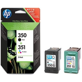 HP cartridge Nr.350/351 Combo Pack SD412EE