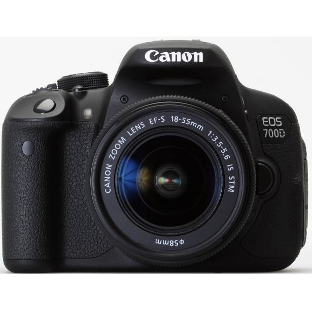 Canon EOS 700D Kit + EF-S 3,5-5,6/18-55 IS STM