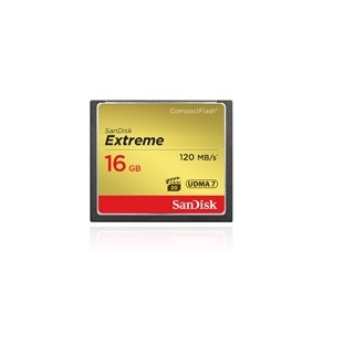 SanDisk Extreme CF 16GB SDCFXS-016G-X46