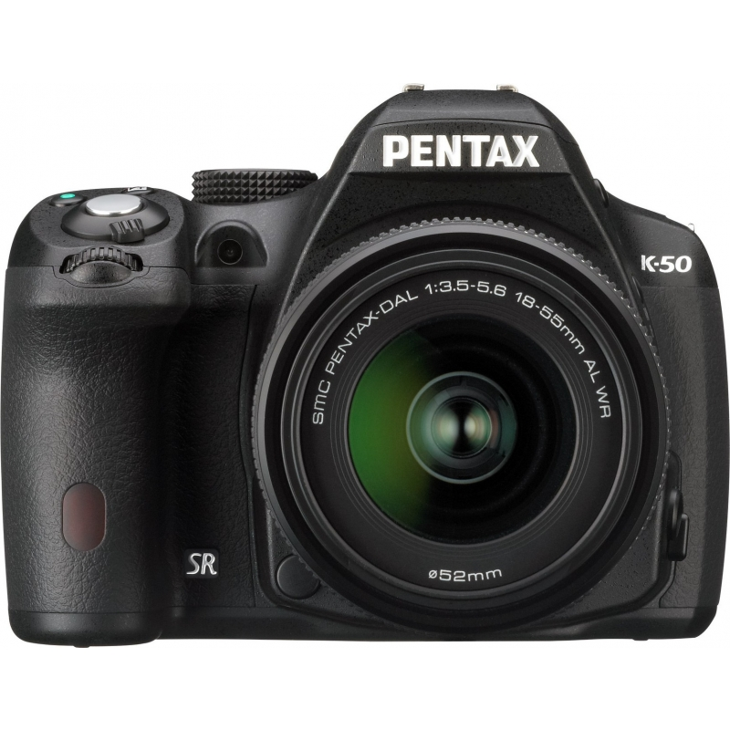Pentax K-50 Kit black + DAL 18-55 WR