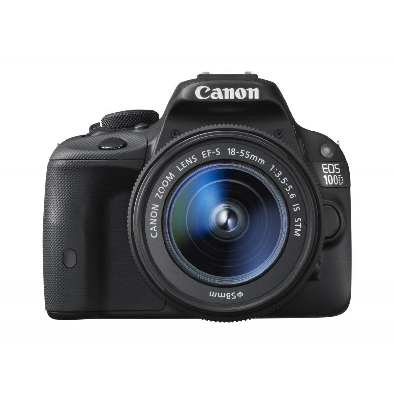 Canon EOS 100D černá + 18-55 mm IS STM