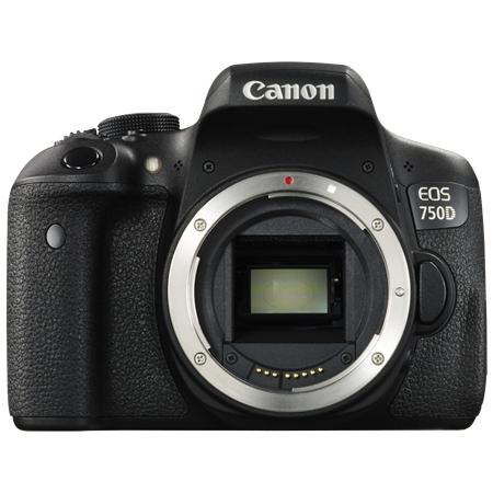 Canon EOS 750D tělo černá