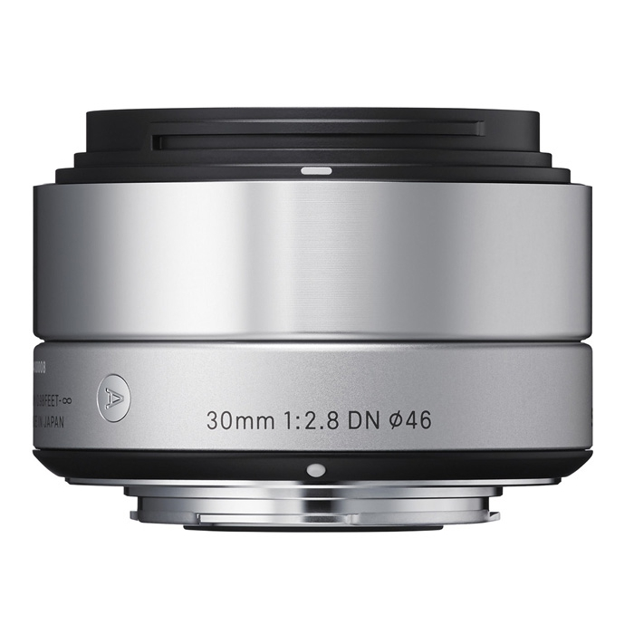 Sigma 30/2,8 DN [A] pro Micro Four Thirds stříbrná