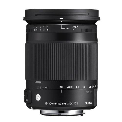 Sigma 18-300/3,5-6,3 DC Macro OS HSM [C] pro Canon