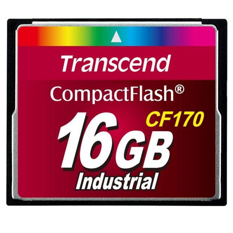 Transcend CompactFlash 16 GB (TS16GCF170)