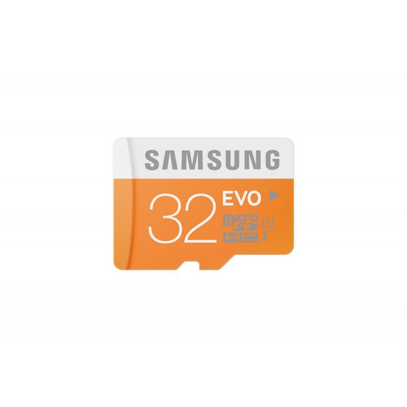 Samsung microSDHC EVO UHS-I 32 GB (MB-MP32DA/EU) + SD adapter