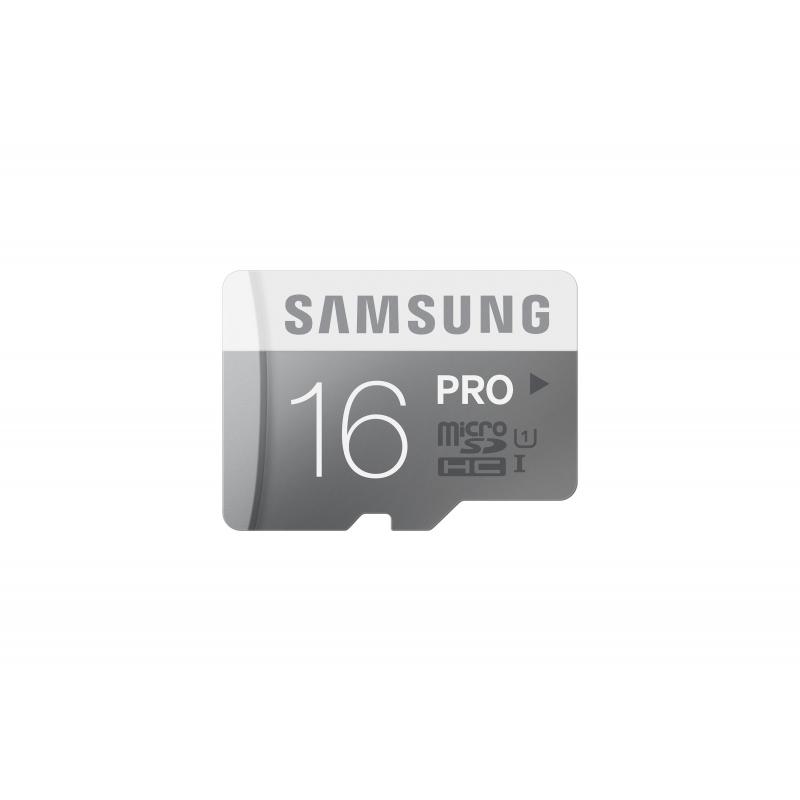 Samsung microSDHC PRO UHS-I 16 GB (MB-MG16DA/EU) + SD adapter