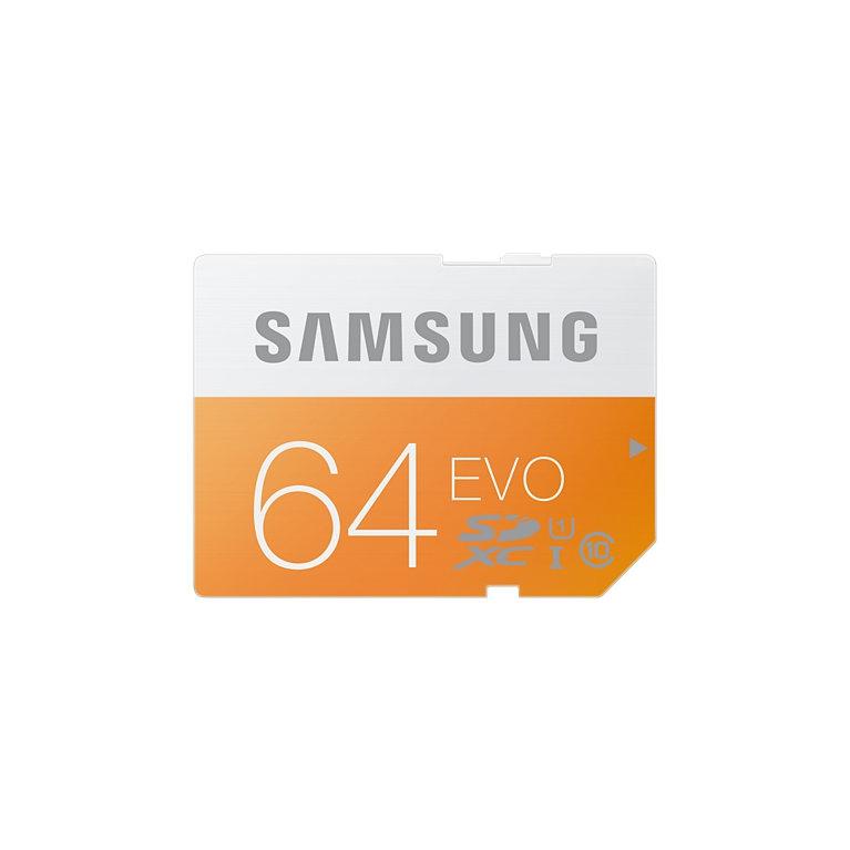 Samsung SDHC EVO UHS-I 64 GB (MB-SP64D/EU)