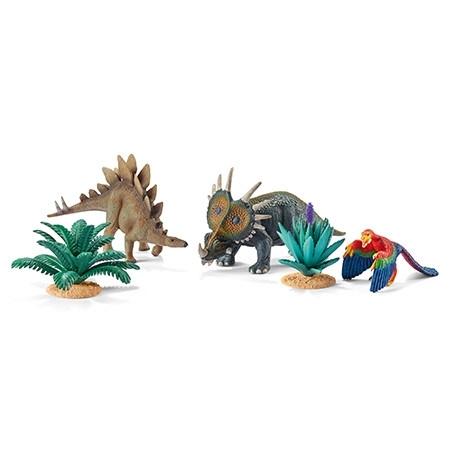 Schleich 42260 Sada Dinosauři při jídle