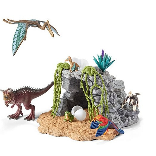 Schleich 42261 Sada Dinosauři s jeskyní