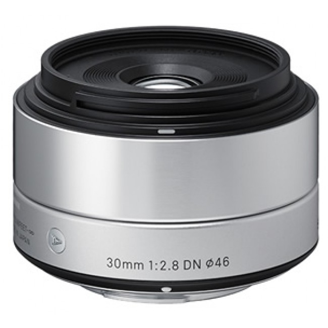 Sigma 30/2,8 DN [A] pro Sony E stříbrná