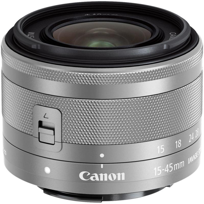 Canon EF-M 15-45/3,5-6,3 IS STM stříbrná
