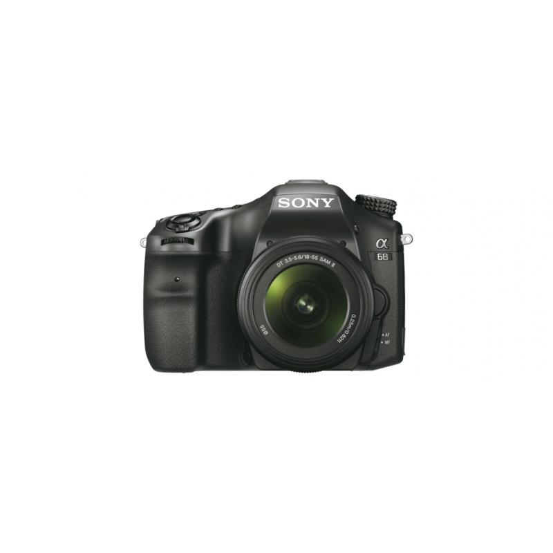 Sony Alpha 68 [ILCA-68K] černá + 18-55 mm II