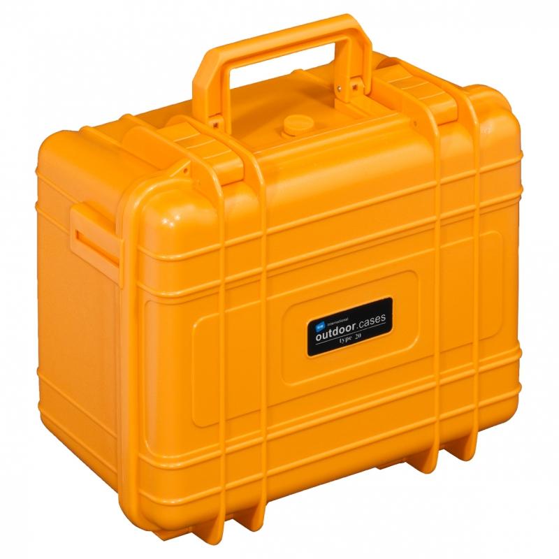 B&W International Outdoor Case type 20 Foam oranžová [1.2816/O/SI]