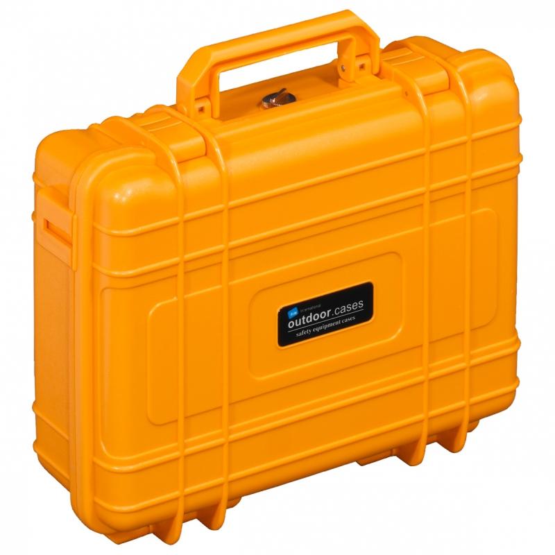 B&W International Outdoor Case type 10 Foam oranžová [1.2809/O/SI]