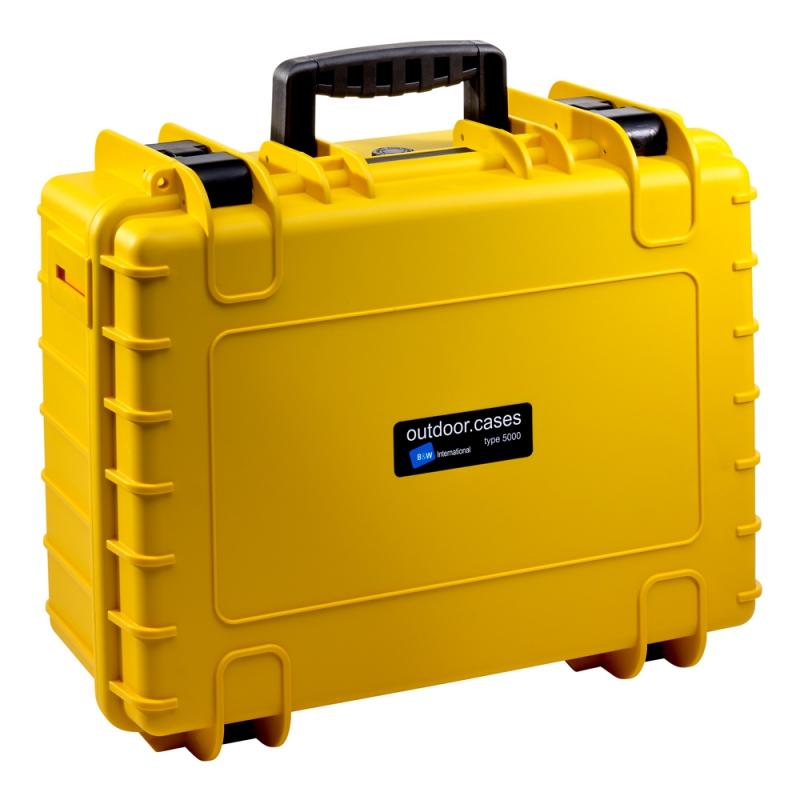 B&W International Outdoor Case type 5000 Foam žlutá [5000/Y/SI]