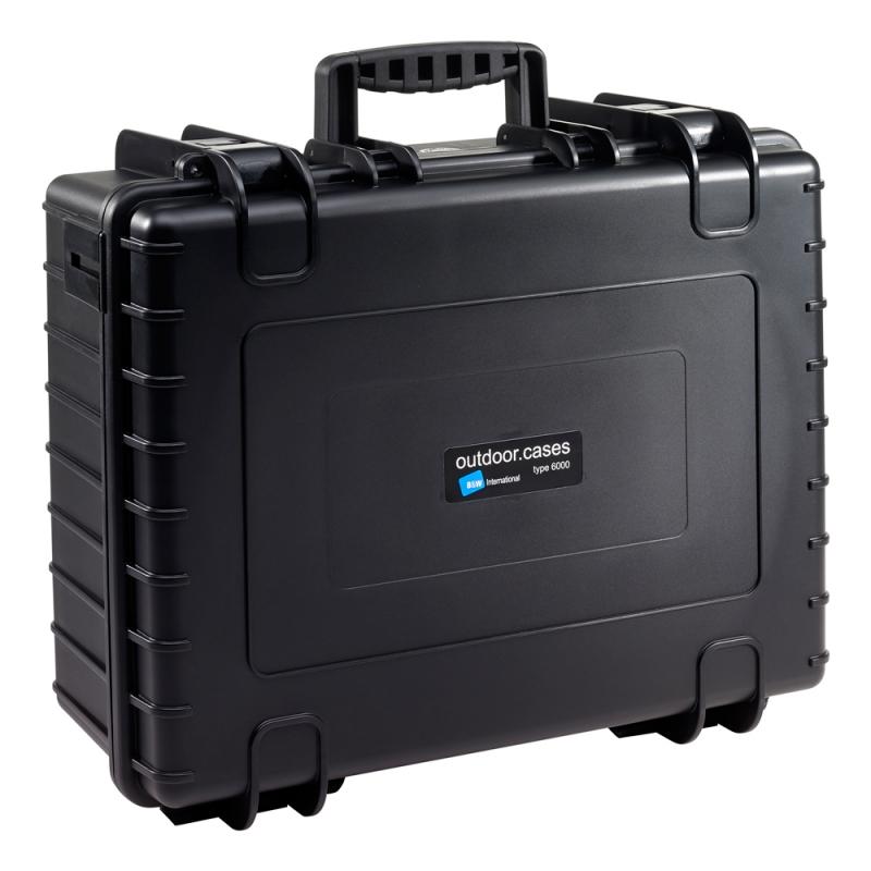 B&W International Outdoor Case type 6000 Padded [6000/B/RPD]