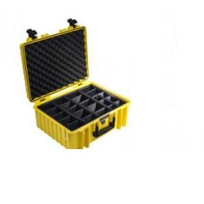 B&W International Outdoor Case type 6000 Foam žlutá [6000/Y/SI]