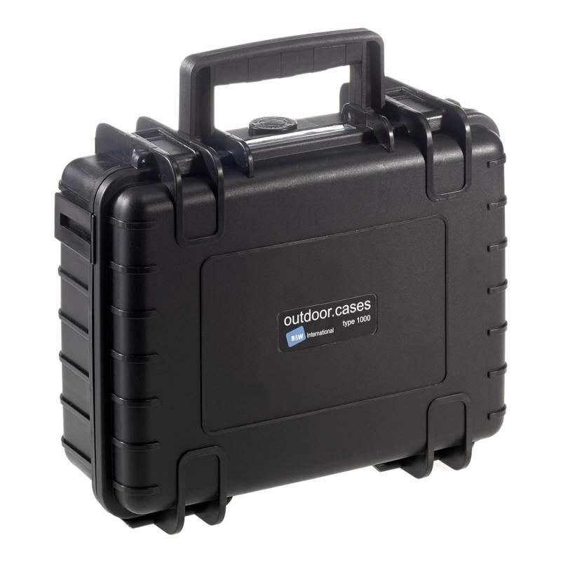 B&W International Outdoor Case type 1000 Padded [1000/B/RPD]