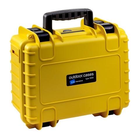 B&W International Outdoor Case type 3000 GoPro žlutá [5100048]