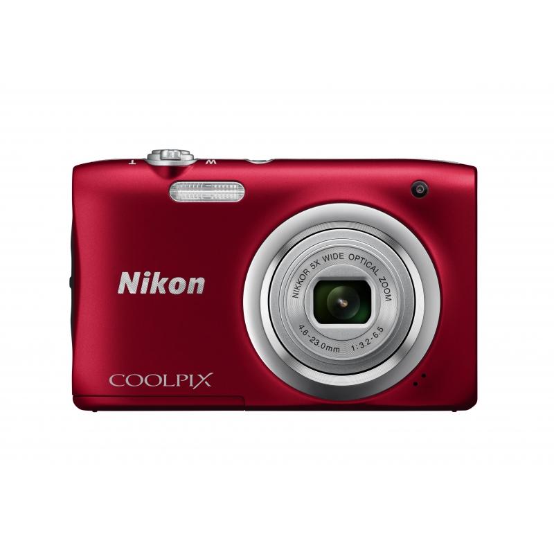 Nikon CoolPix A100 červená
