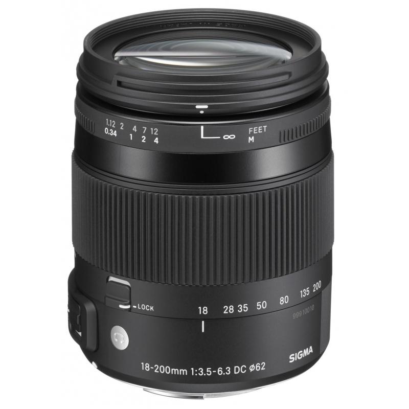Sigma 18-200/3,5-6,3 DC Macro HSM OS [C] pro Nikon