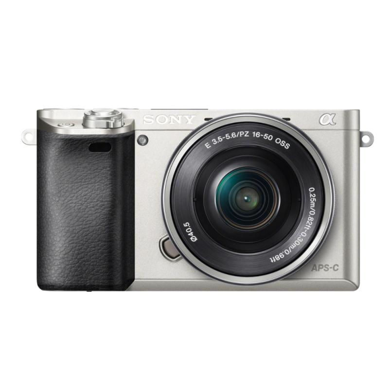 Sony Alpha 6000 stříbrná + 16-50 mm [ILCE-6000L]