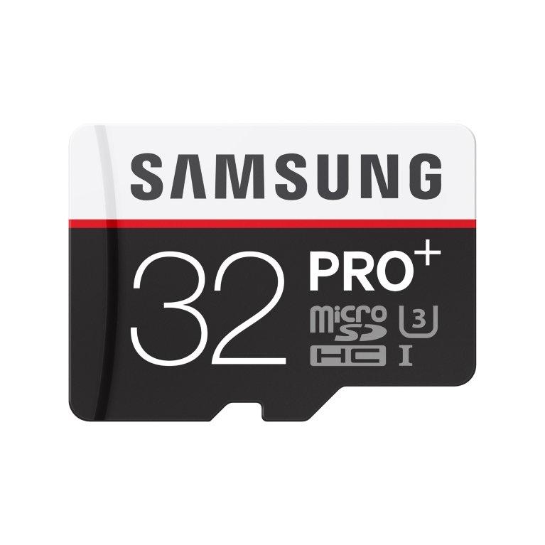 Samsung microSDHC Pro+ 32 GB (MB-MD32DA/EU) + SD adapter