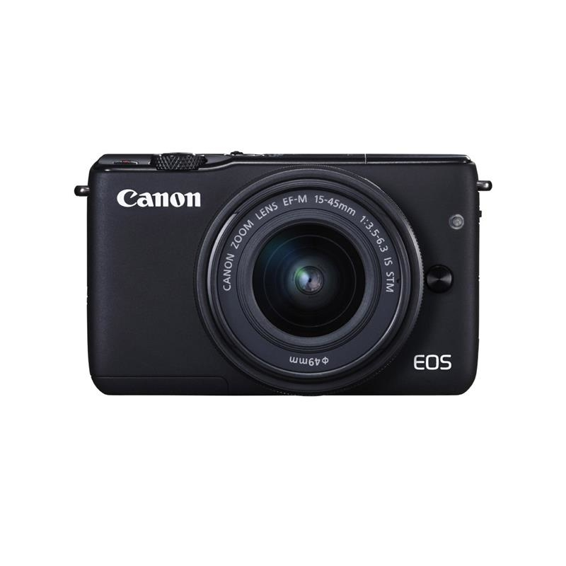 Canon EOS M10 černá + 15-45 mm