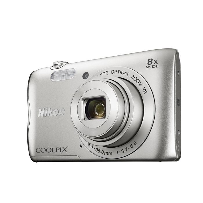 Nikon CoolPix A300 stříbrná