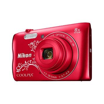 Nikon CoolPix A300 červená