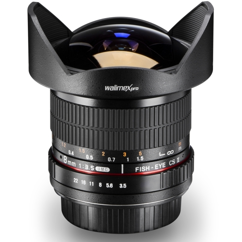 walimex pro 8/3,5 Fish-Eye II pro Canon EF