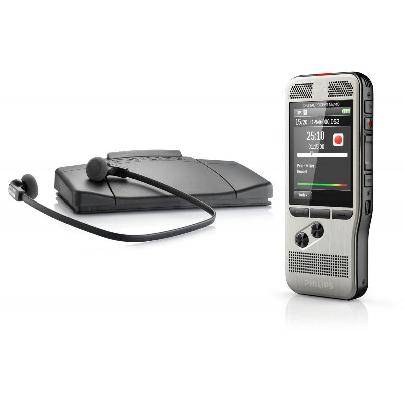 Philips DPM6700 stříbrná