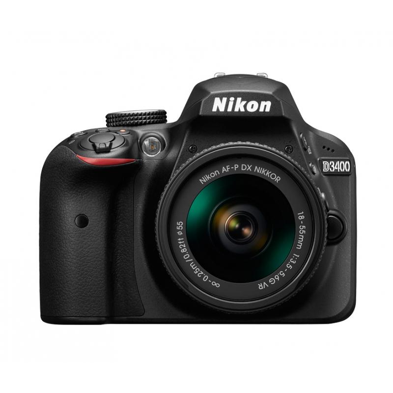 Nikon D3400 černá + AF-S 18-105 mm VR