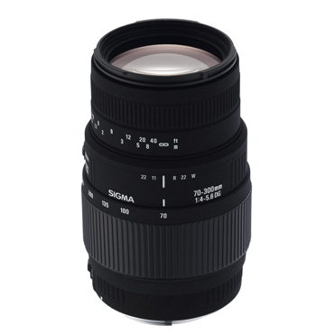 Sigma 70-300/4,0-5,6 DG Macro Canon