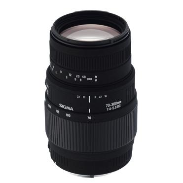 Sigma 70-300/4,0-5,6 DG Macro Nikon