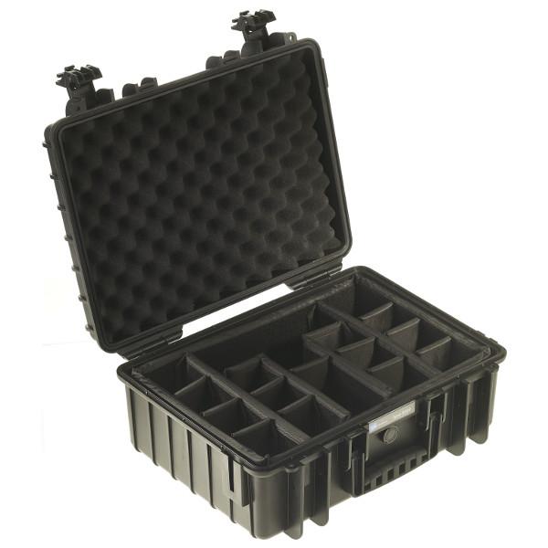 B&W International Outdoor Case type 5000 Padded [5000/B/RPD]