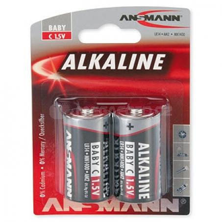 Ansmann Alkaline Red Baby C