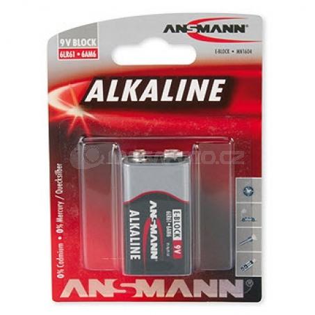 Ansmann Alkaline Red 9V E-Block