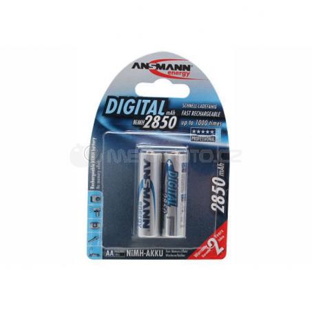 Ansmann 2850mAh NiMh Digital Professional 2x AA