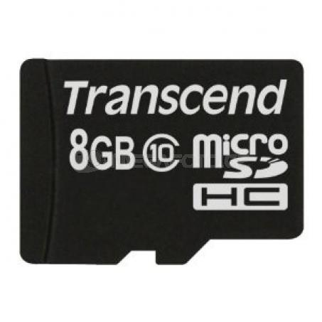 Transcend microSDHC Card SDHC 8 GB Class 10
