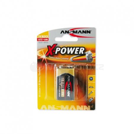 Ansmann Alkaline 9V-Block X-Power
