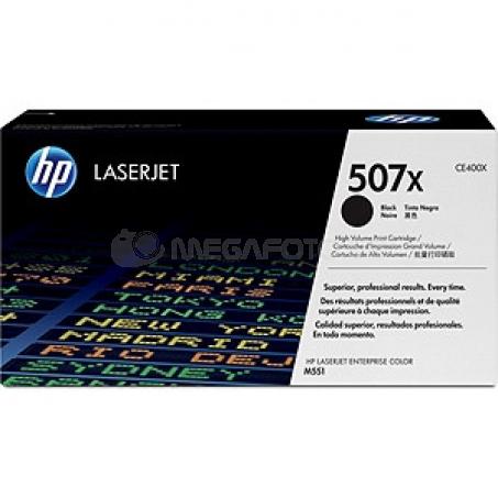 HP Toner CE 400 X black No. 507 X