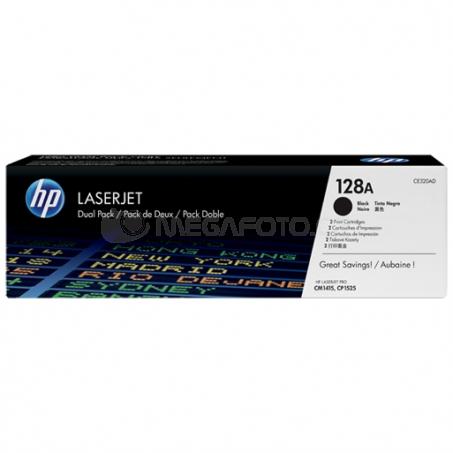 HP Toner CE 320 AD black No. 128 A