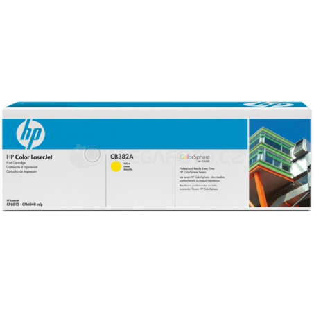 HP Toner ye CB382A