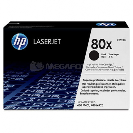 HP Toner CF280XD black No. 80