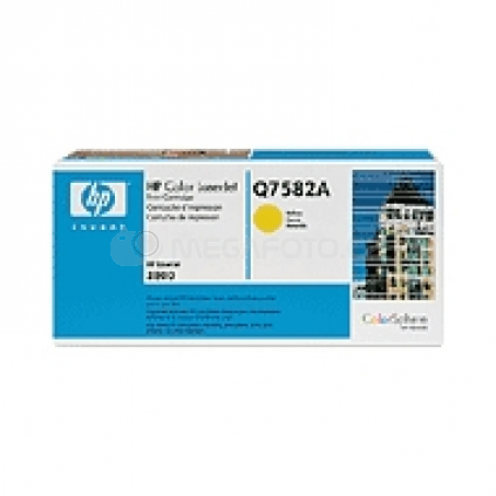 HP Toner Q7582A yellow