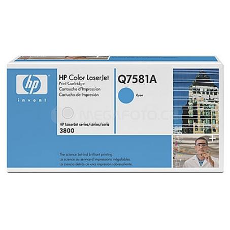 HP Toner Q7581A cyan